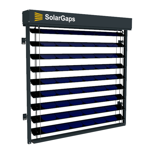 Solargaps Smart Blinds With Solar Panels Solargaps