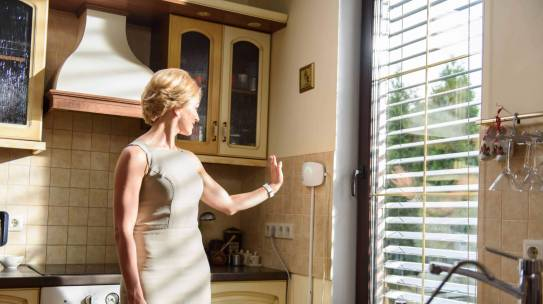 Why do our exterior blinds produce electricity?